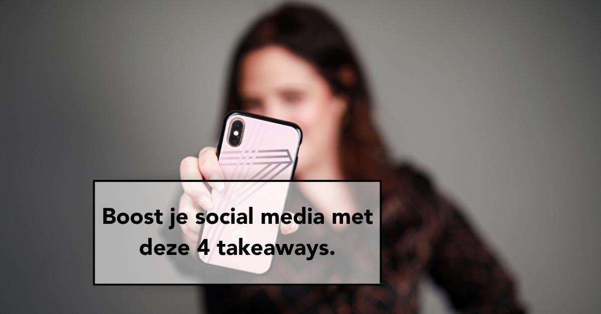 4 social media takaways, social media, blogs, e-volve