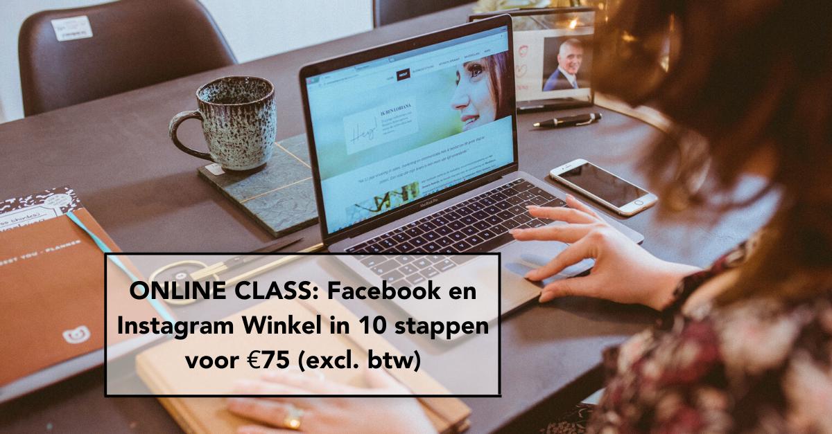 Facebook Instagram Winkel