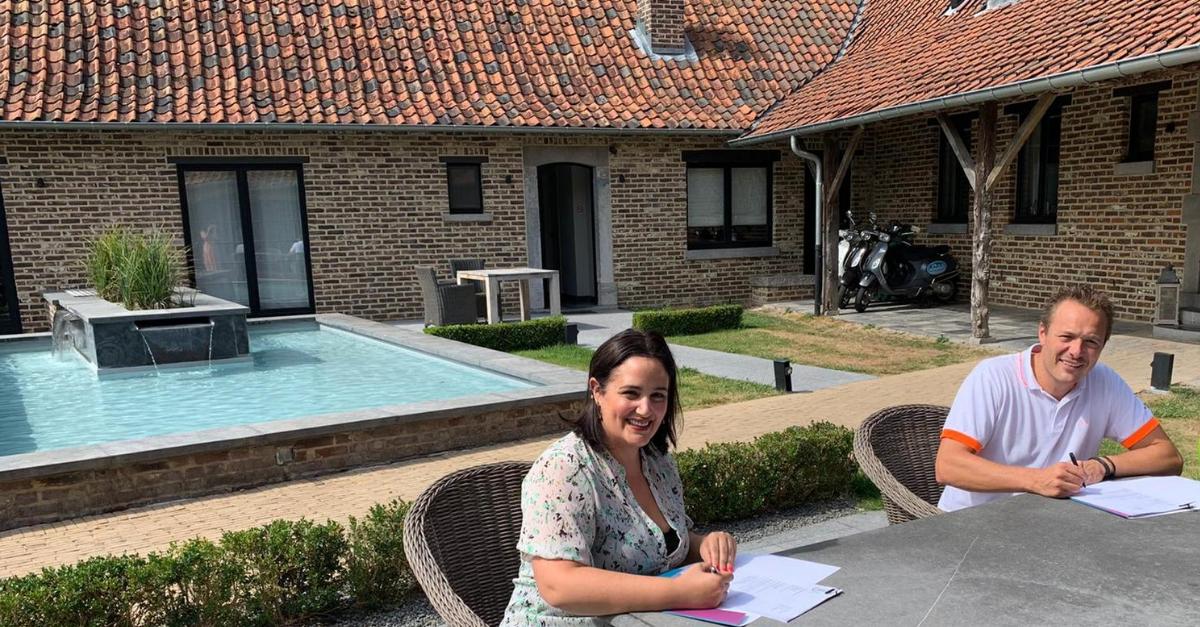 Partnership, E-Volve, Hoeve Roosbeek, contract, Zepperen, Hasselt